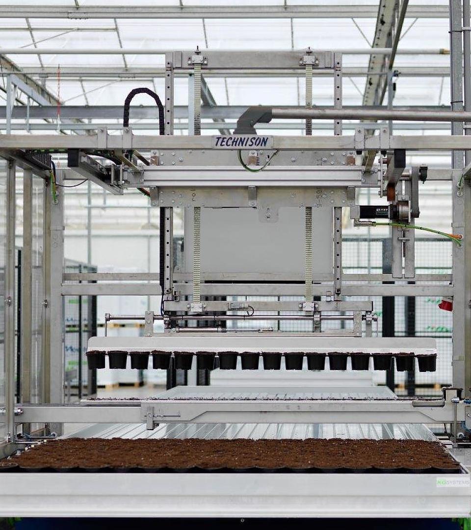 Tuinbouw automatisering